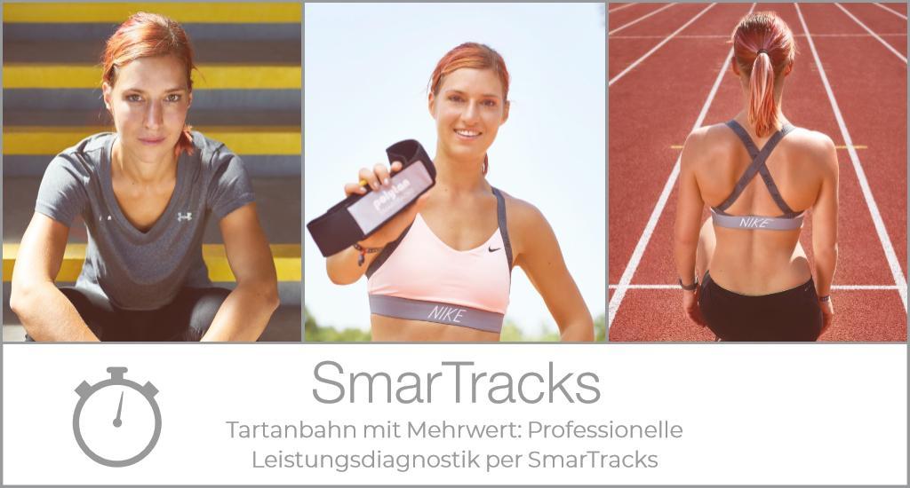 Tartanbahn mit Mehrwert: Professionelle Leistungsdiagnostik per SmarTracks