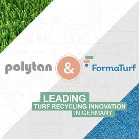 Polytan und Formaturf - Leading Recycling Innovation