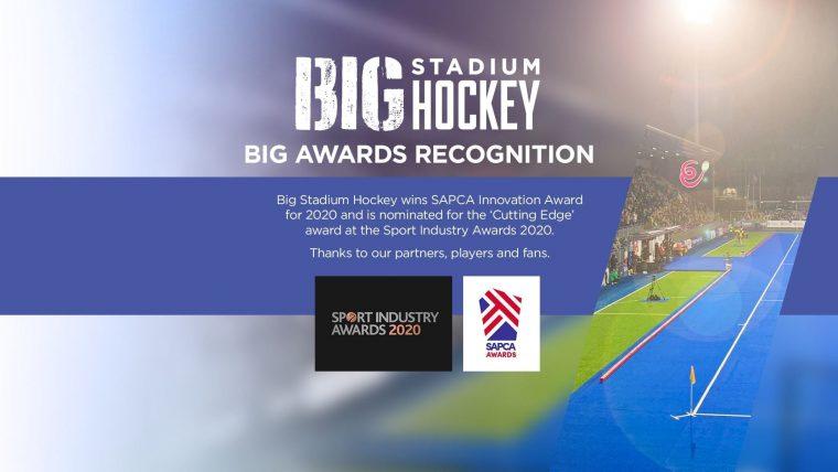 """Big Stadium Hockey gewinnt SAPCA-Preis und steht auf der Shortlist für den """"Cutting Edge Award"""" der Sportindustrie"""