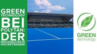 Green Technology bei Polytan: der nachhaltigste Hockeyrasen!