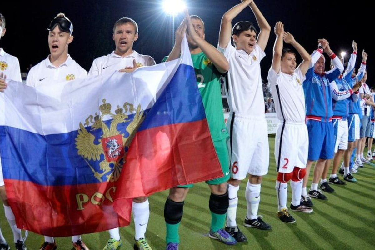 Polytan war offizieller Partner der Blindenfußball-EM in Berlin