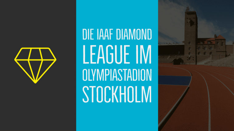 Die IAAF Diamond League im Olympiastadion Stockholm