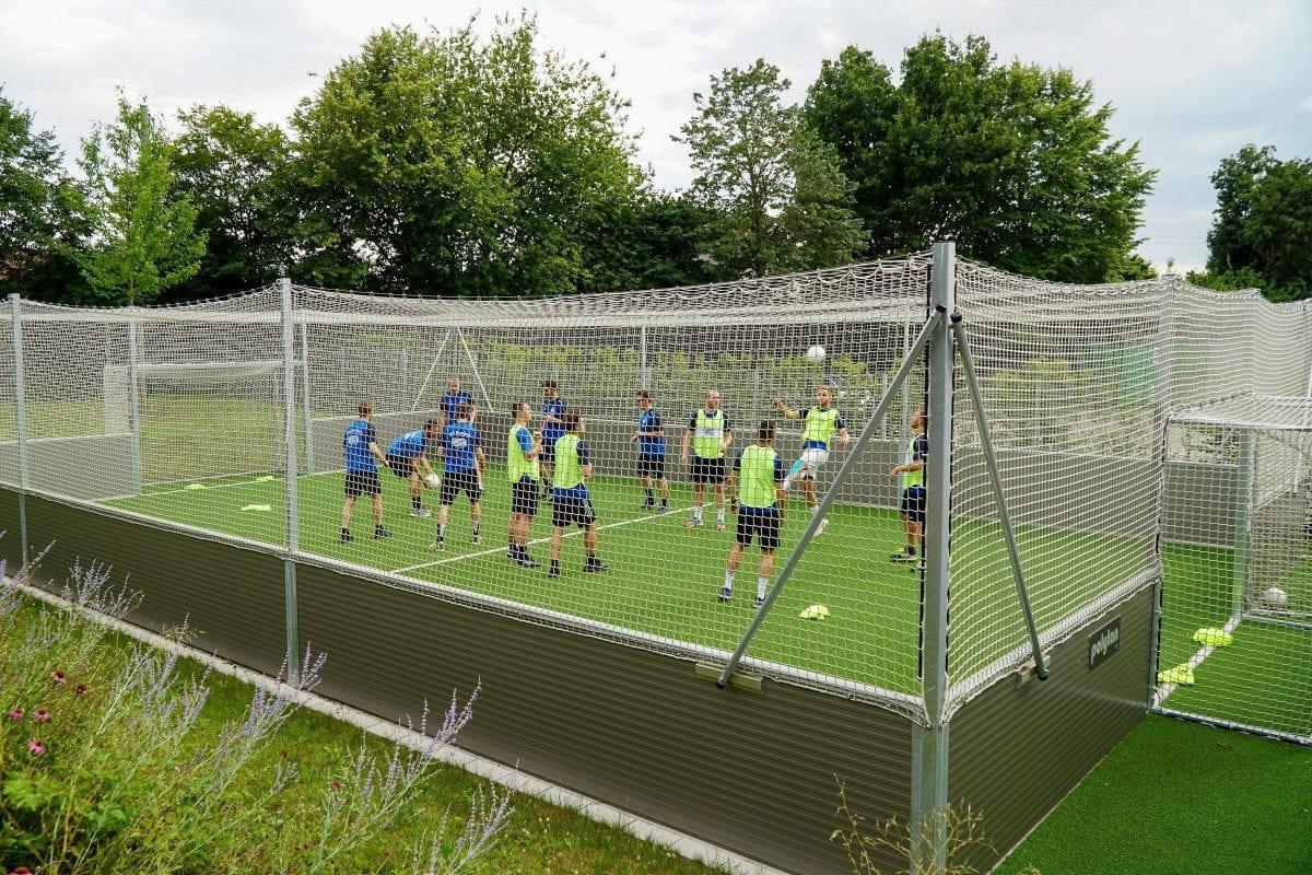 Der TSV Burgheim zu Gast bei Polytan