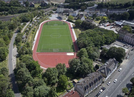 Sportplatz Grundstraße, Wuppertal, LigaTurf Cross und Rekortan M